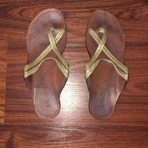 Anne Klein Size 7 Sandals